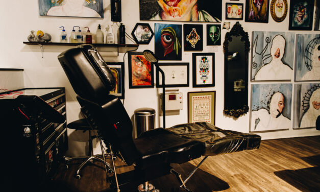 E.4: Missy Hoch | Gold Heart Tattoo