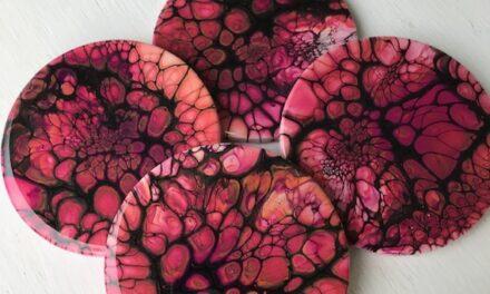 E.121:  Cindy Stuhr |  Fluid Acrylic Painter
