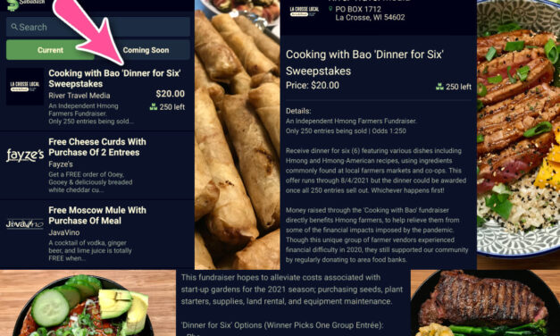 """Cooking with Bao """"Dinner for Six"""" Sweepstakes!"""