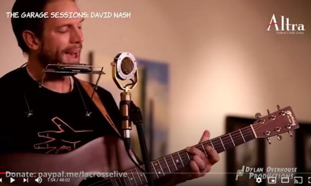 Garage Sessions ft: David Nash