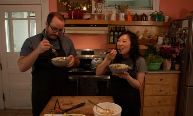 Cooking with Bao: Bitter Melon & Bacon Stir-Fry with Abram Dyke