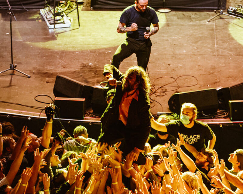 On the Road: IDLES & Gustaf LIVE at the Palace Theater